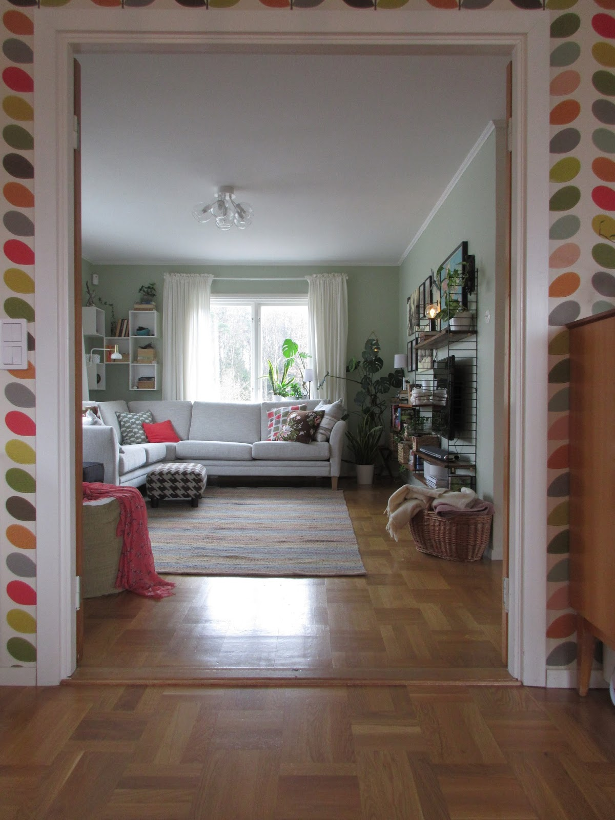 Pias planer: vardagsrum klart!