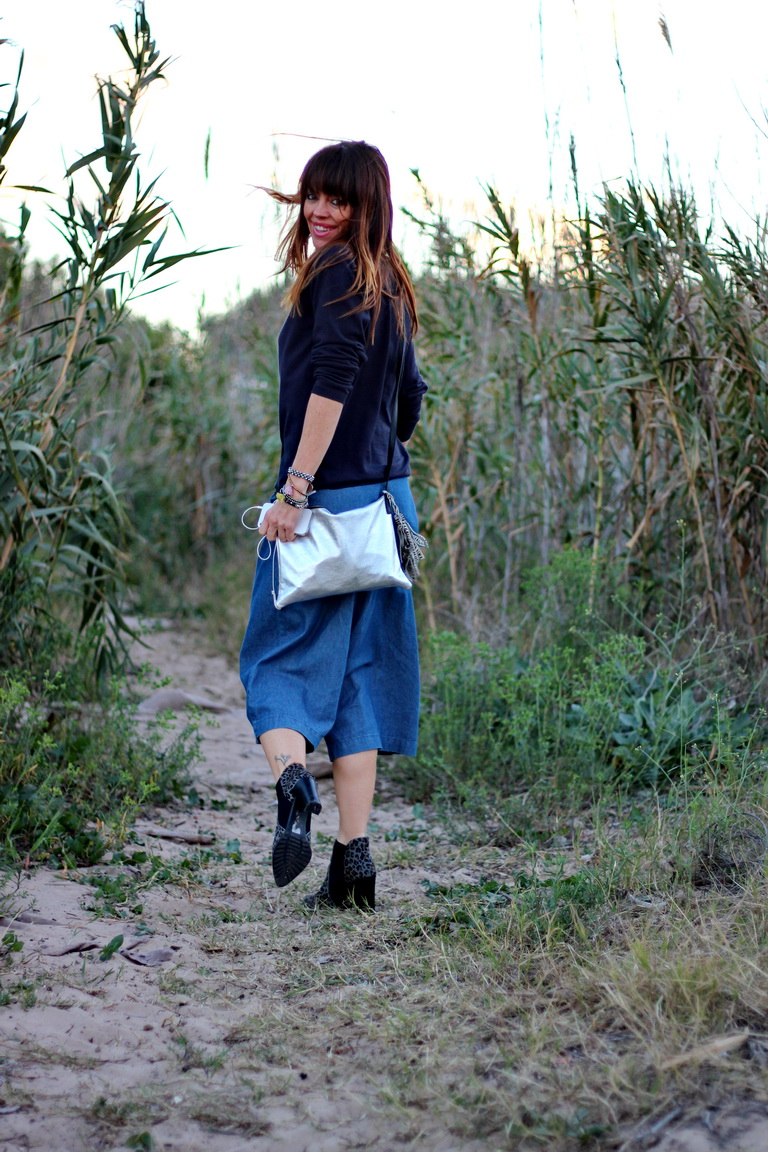 Streetstyle, fashion blogger, denim outfit, animal print, tendencias 2016
