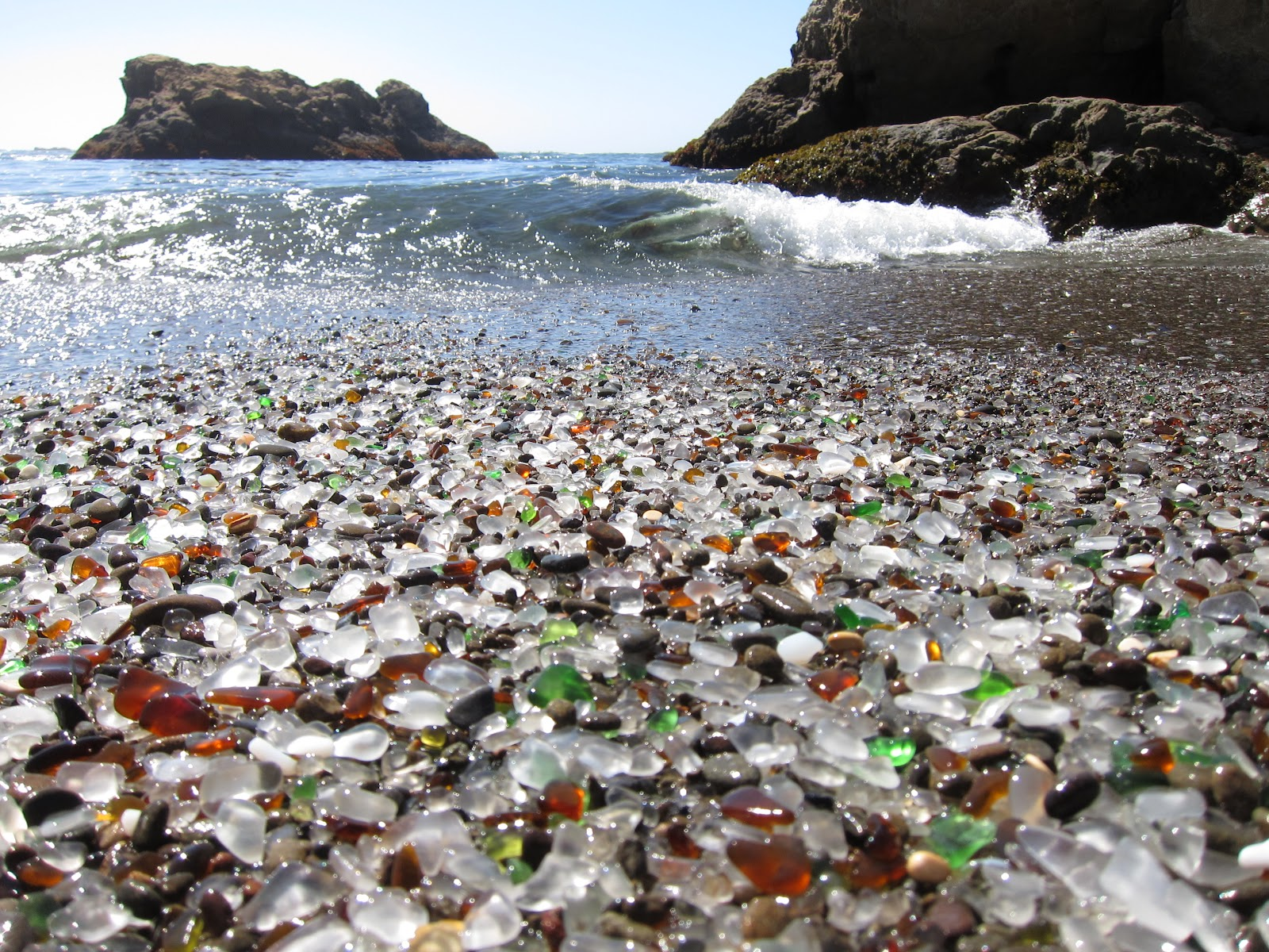 Nate's Nonsense: Glass Beach (Fort Bragg, California