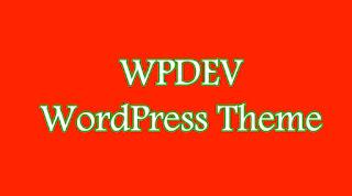 wpdev WordPress Theme