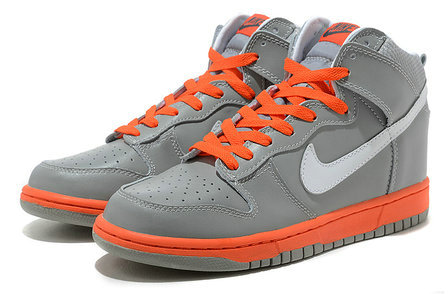 Nike Dunk High Orange Grey  3c8dba354
