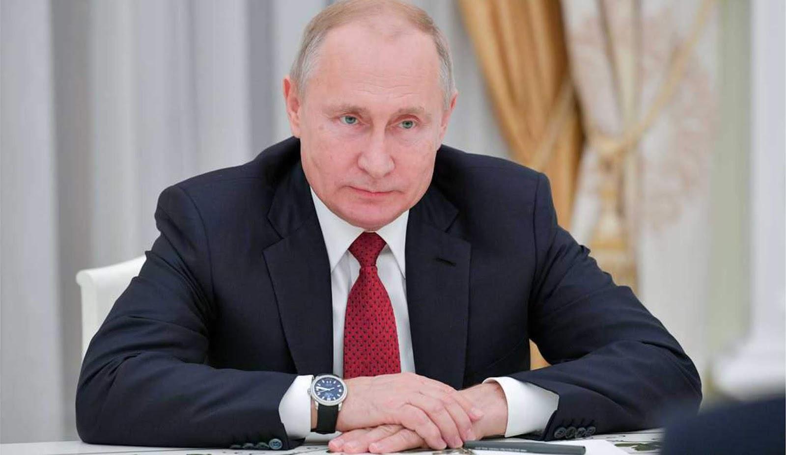 Putin Tandatangani Dekrit Rusia Resmi Menangguhkan Diri Dari Perjanjian INF