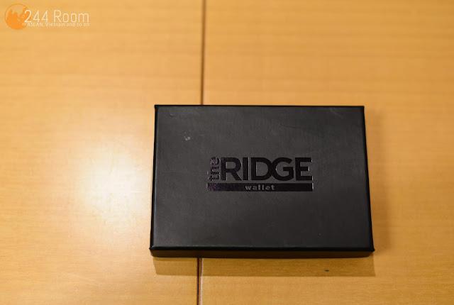 the ridge wallet box ザ・リッジ化粧箱