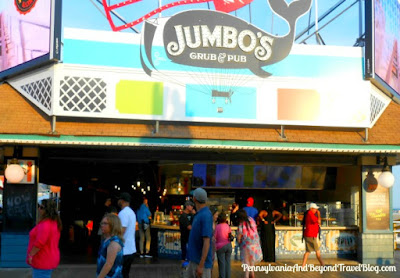 Jumbo's Grub & Pub Restaurant on Wildwood Boardwalk in New Jersey