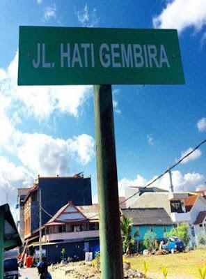 20 Meme Nama Jalan Ini Lucu Banget Bikin Nyengir Kayak Kuda