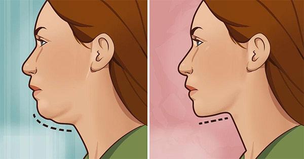 Cet exercice très simple vous permettra de vous débarrasser de votre double menton en 10 jours seulement !