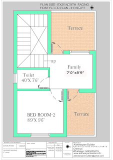 double bedroom house design