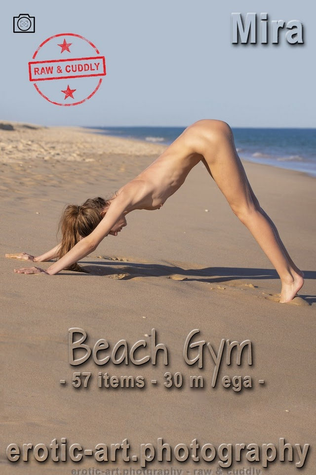 [Erotic-Art] Mira, Mirabella - Beach Gym