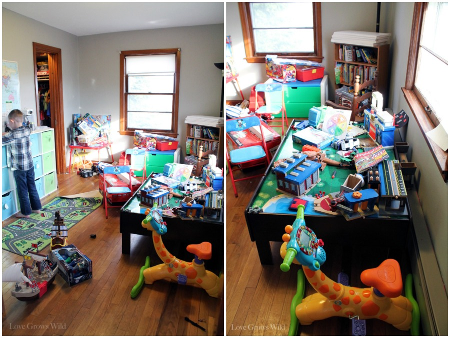 Kid S Playroom Makeover With Lots Of Organizing Tips And Decor Ideas Kids