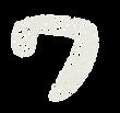 カタカナのペンキ文字「ワ」