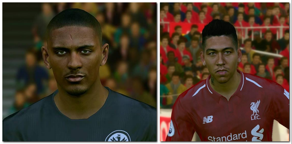 PES 2017 Firmino & Haller Face by Face pes 2017