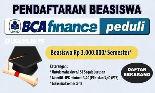 Beasiswa BCA Finance 2019