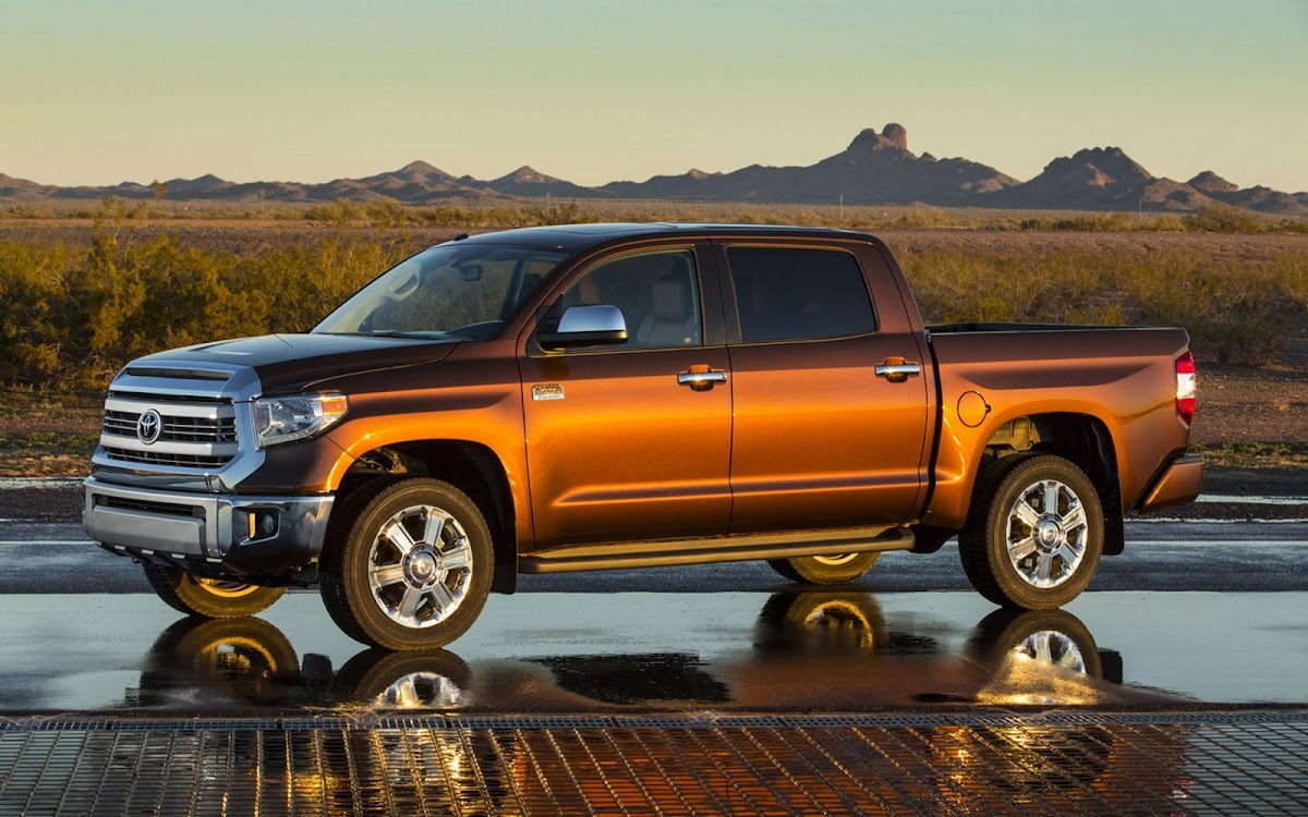 2014 Toyota Tundra Widescreen HD Wallpaper 7