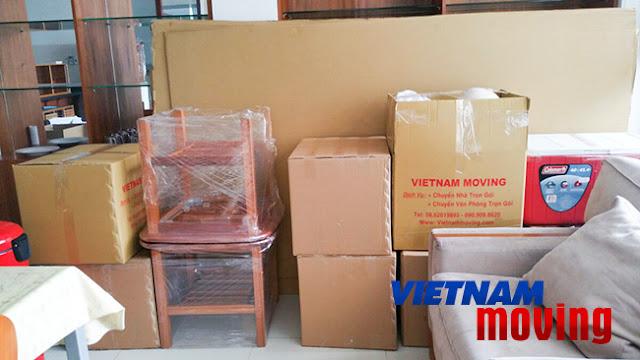 Dịch vụ chuyển nhà trọn gói giá tốt huyện Hóc Môn TPHCM