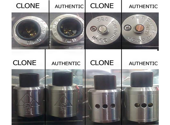 Beda Goon Oten dengan Clone