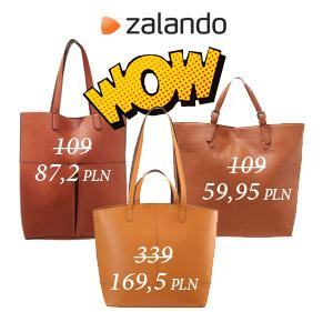 Tanie torby w Zalando