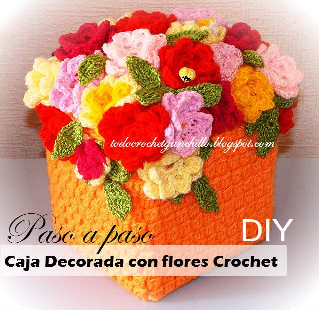 Canasta de flores: tutorial de cofre para recuerdos
