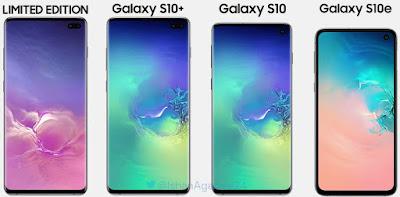 Samsung Galaxy S10 Aur Galaxy S10 E Aur Galaxy S10 Plus Flagship Smartphone
