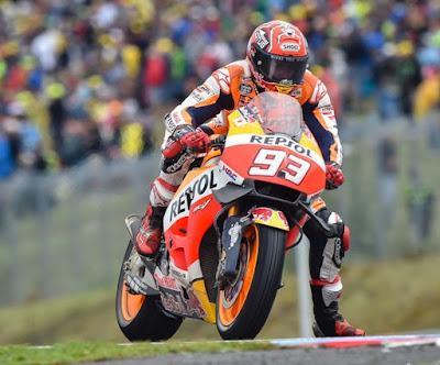 Kekeliruan Marquez yang Berujung Podium