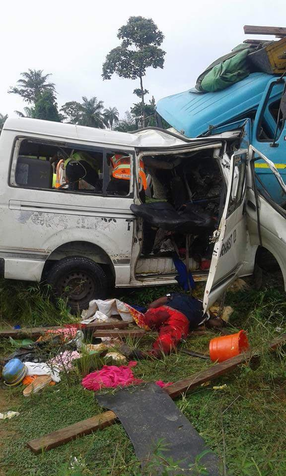 Peace Mass Transit commercial bus involved in fatal accident, no survivors recorded