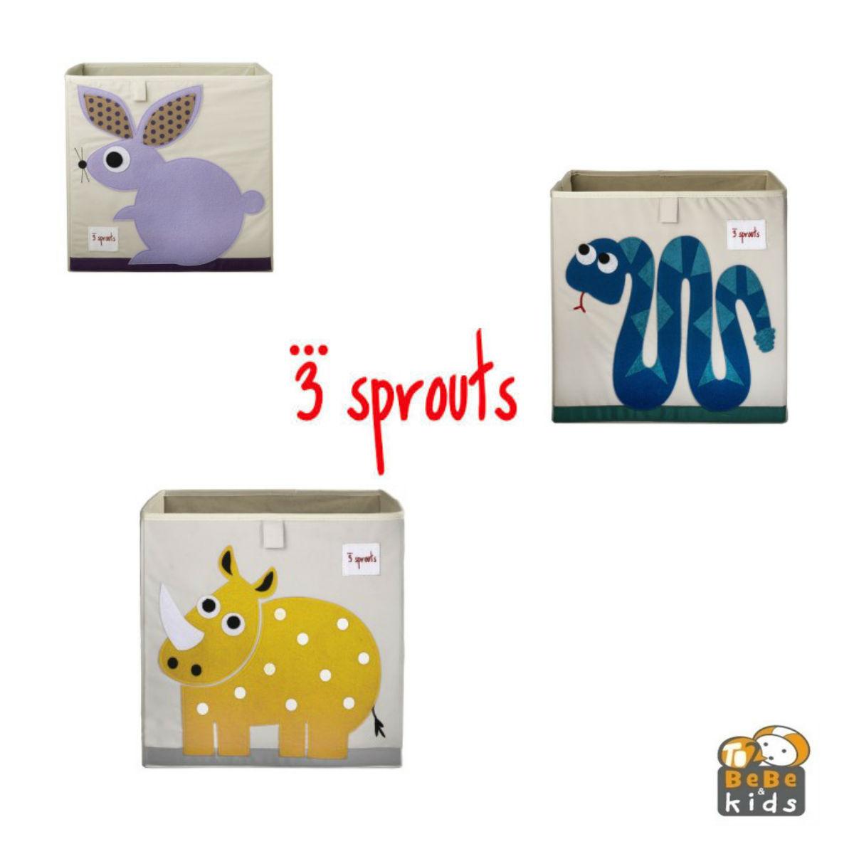 To2bebe kids 3 sprouts en espa a toallas arc n de - Cajas almacenaje ropa ...