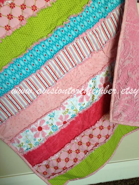 strip rag quilt pattern