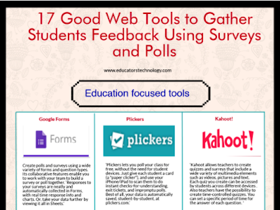 17 of The Best Surveys and Polls Creation Tools for Teachers and Educators
