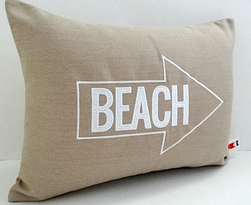 Beach Arrow Pillow