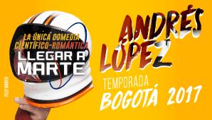 LLEGAR A MARTE CON ANDRÉS LÓPEZ 1