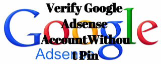 verify google adsense without pin