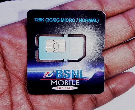 BSNL extended FREE 3G SIM Offer for new and MNP customers up to 30th November 2016