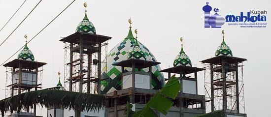 Masjid NU Lintang Songo 8M dan 2M