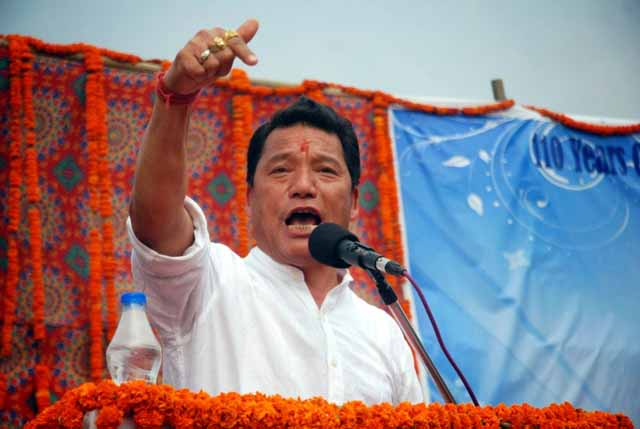 Bimal Gurung asks people to surrender AAY digital card, alleges state goverment ploy