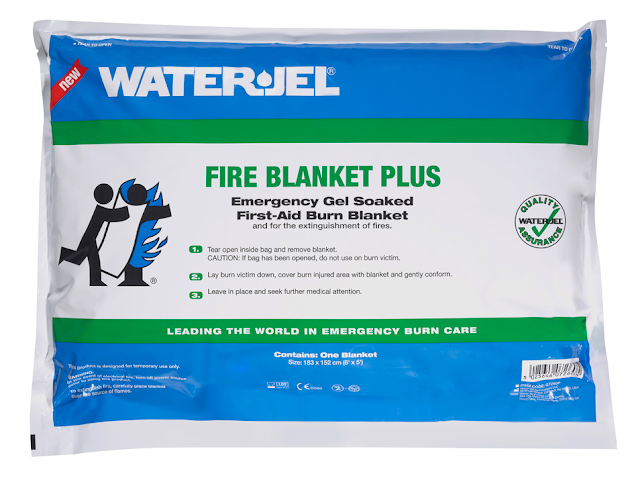 Water-Jel Fire Blanket