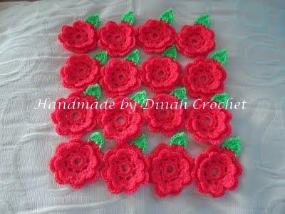 Dinah crochet may 2011 daun tak ikut pattern asal susah so saya ubah sedikit yang penting hijau cantik juga hehepuji sendiri ccuart Gallery