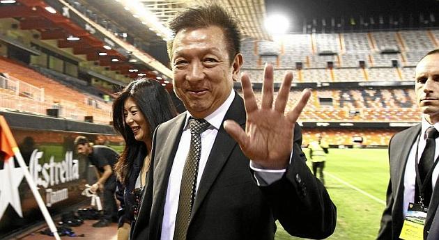 El Valencia arruina los planes de Peter Lim
