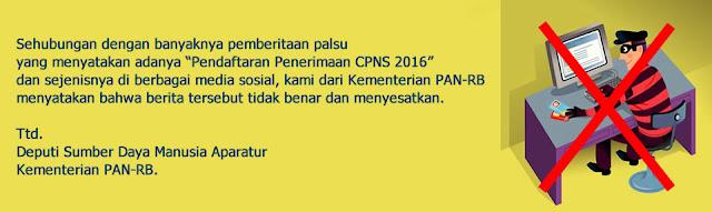Tahun 2016 Pemerintah Belum ada Rencana Rekrutmen CPNS