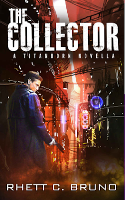 The Collector, Rhett C. Bruno, Titanborn Universe, book review, On My Kindle Book Reviews