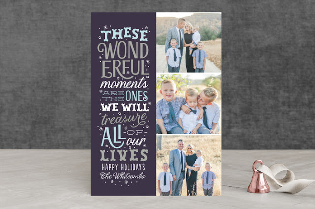 Minted 2016 Holiday Card Collection