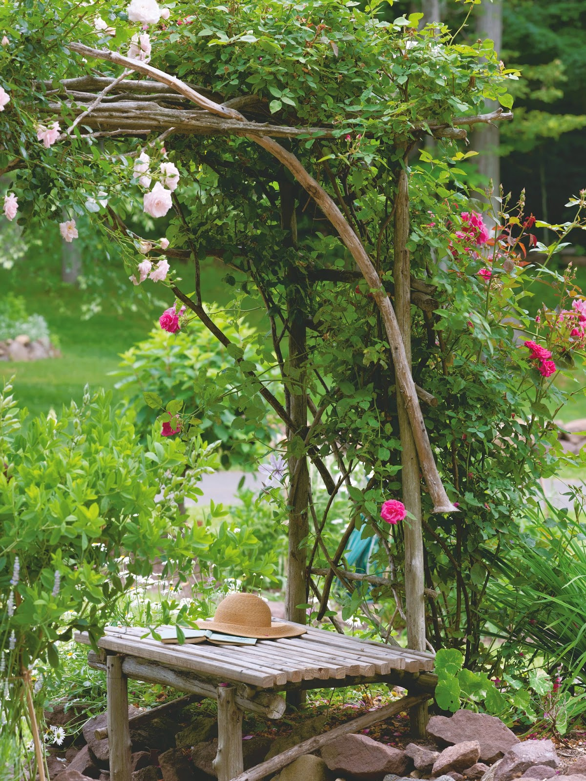My Twig And Twine Nest Handmade For The Garden Time To