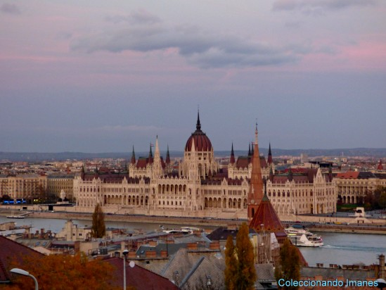 Parlamento de Budapest desde el Bastión de Pescadores