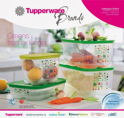 A WONDERFUL WORLD OF TUPPERWARE BRANDS: TUPPERWARE BRANDS 17FEB--31 MARCH 2014