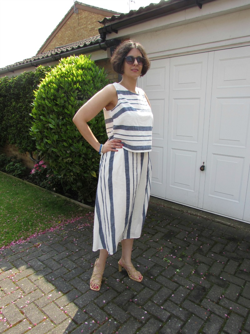 striped outfit summer 2016