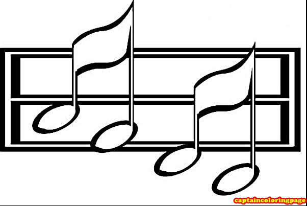 Music Note Coloring Pages Printable Coloring Page Note Coloring Pages