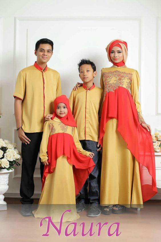 Model Baju Lebaran Couple 2018
