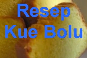 Resep Kue Bolu Sederhana