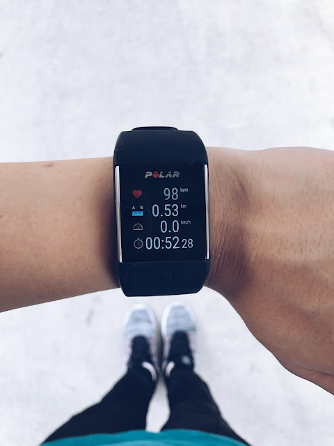 Evilbean Singapore Lifestyle Influencer - Polar M600