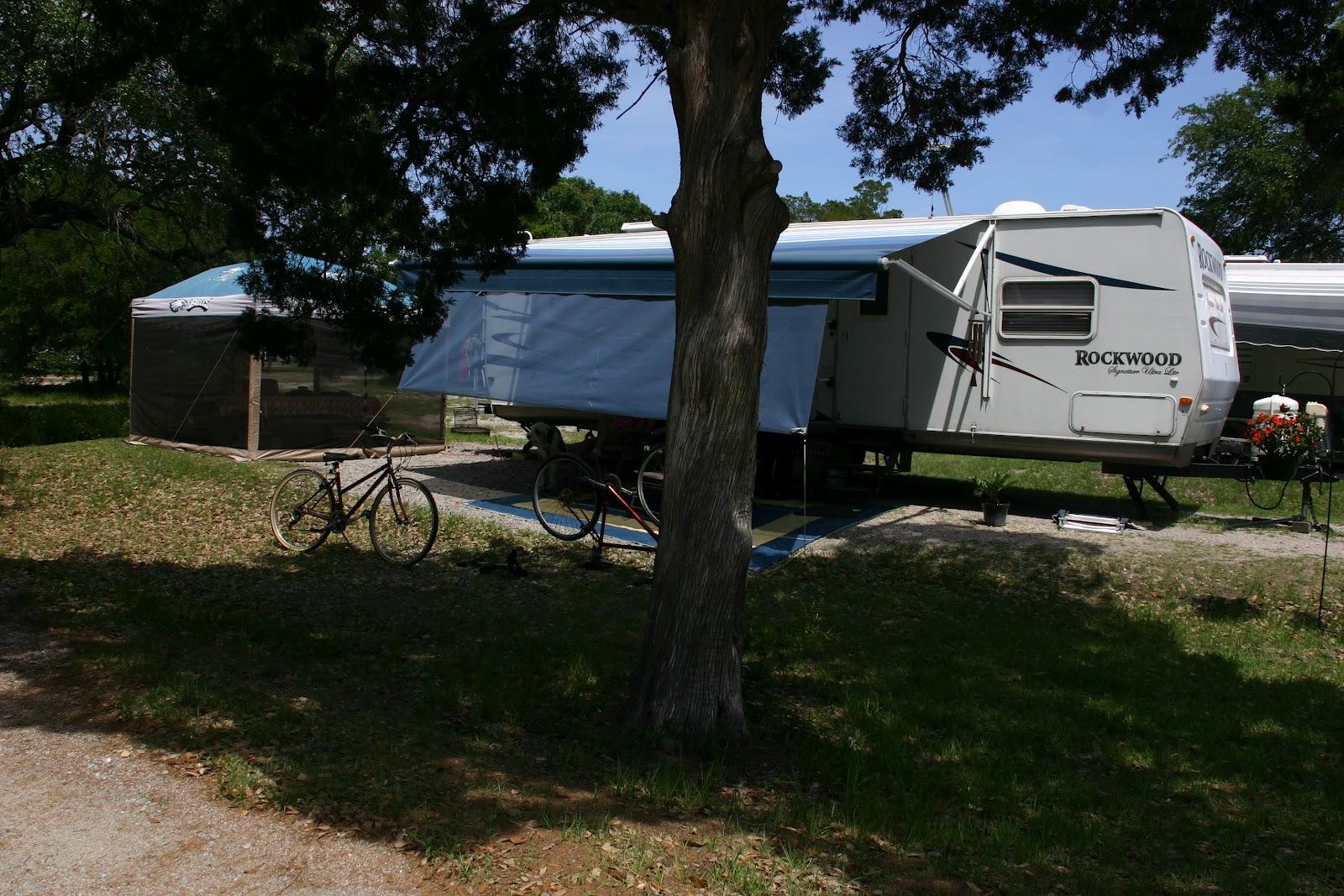 Campsite 98 At Huntington Beach State Park