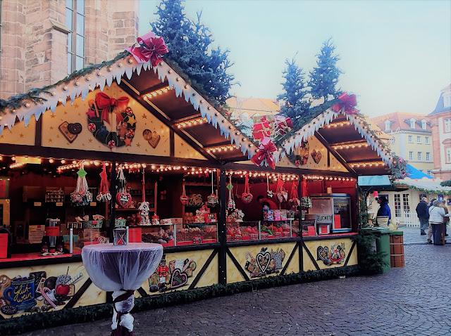 Christmas Market Heidelberg - Christmas Market Stands