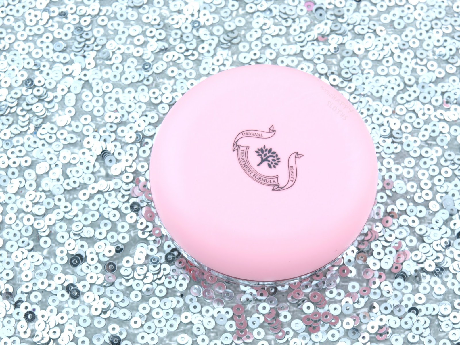 """THEFACESHOP Hydro Cushion Blush in """"01 Pink"""": Review and Swatches"""